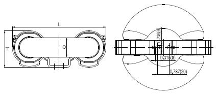 Лампа прямоугольной формы