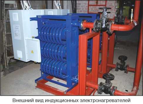 Рис.№1. Индукционный вихревой электрический водонагреватель