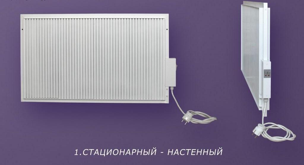 Рис №5. Электрические батареи отопления настенные АЭРГ