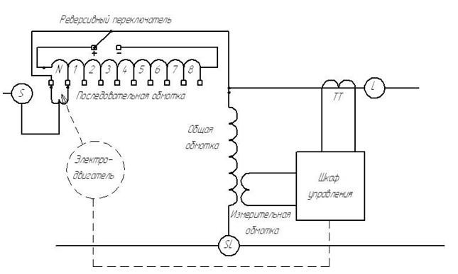 Рис №3. Электрическая схема БАРН