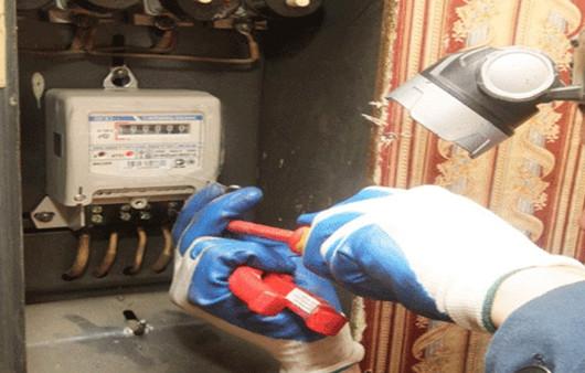 Рис. 1 Замена электросчетчика