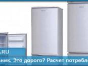 Холодильник. Это дорого? Расчет потребления