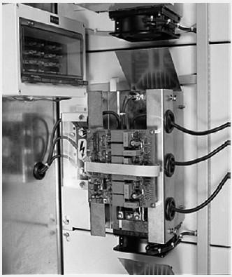 Рис. Внешний вид тиристора для коммутации конденсаторных установок.