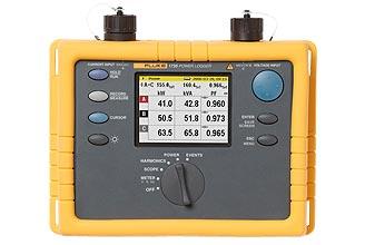 Рис№2. Fluke 1735 –прибор применяемый для трехфазной сети в качестве регистратора электрической энергии