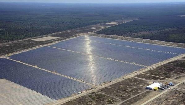 SolarparkLieberose. Электростанция неподалеку от Берлина