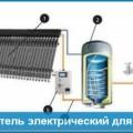 Водонагреватель электрический