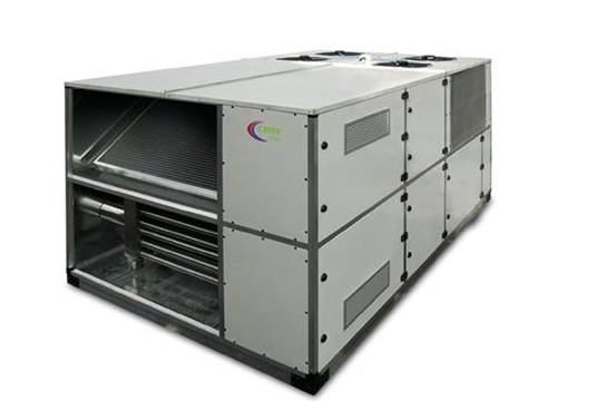 Рис №2. Крышный кондиционер, многоканального действия оборудованный газовым нагревом