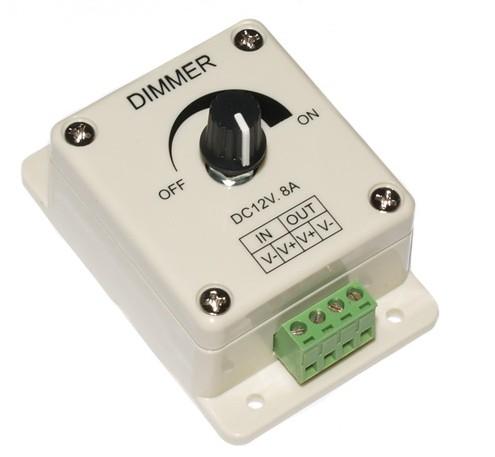 Рис №1. Диммер накладной XZ-10, может использоваться для светодиодных светильников и светодиодных лент